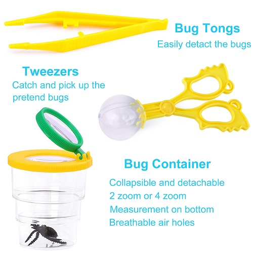 INNOCHEER Explorer Kit & Bug Catcher Kit for Kids Outdoor